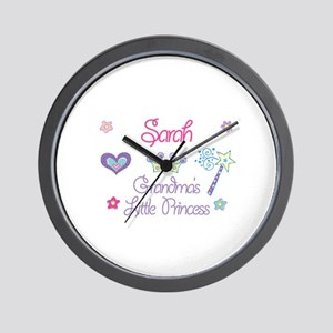 Sarah - Grandma's Little Prin Wall Clock
