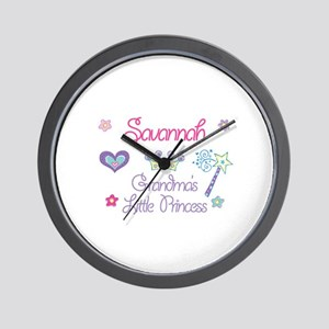 Savannah - Grandma's Little P Wall Clock