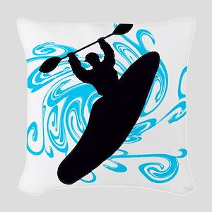 KAYAKER Woven Throw Pillow