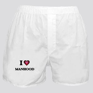 I Love Manhood Boxer Shorts