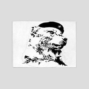 Pride Bear Che Gue-BEAR-a 5'x7'Area Rug