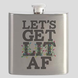 Lets Get Lit AF Flask