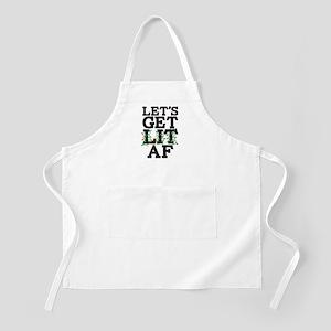 Lets Get Lit AF Apron