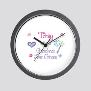 Trinity - Grandma's Little Pr Wall Clock