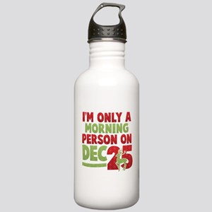 Morning Person Stainless Water Bottle 1.0L