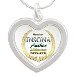 IAAN Member Silver Heart Necklace