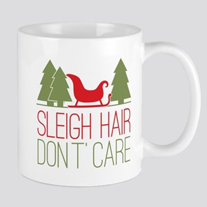 Sleigh Hair, Don't Care Mug