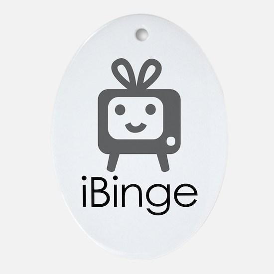 iBinge Oval Ornament