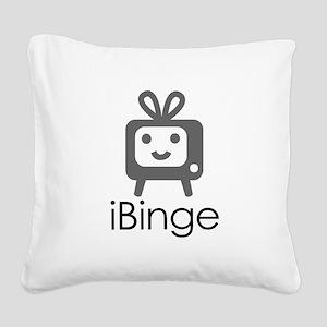 iBinge Square Canvas Pillow