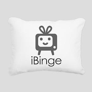 iBinge Rectangular Canvas Pillow