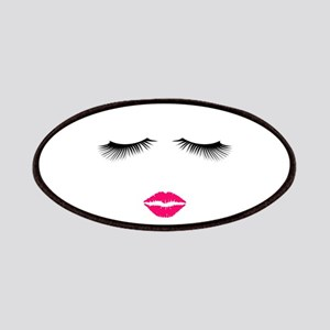 Lipstick and Eyelashes Patch