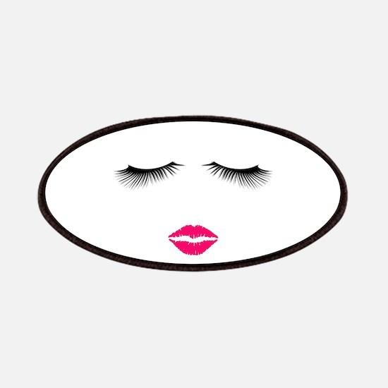 Lipstick and Eyelashes Patch