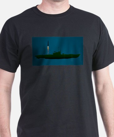 Missile Undersea Launch T-Shirt