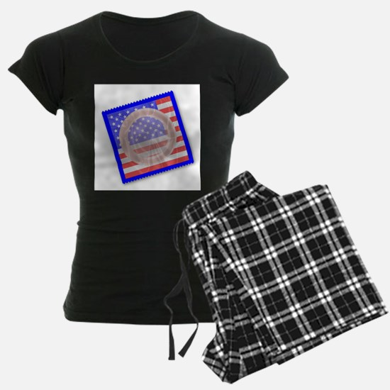 Stars And Stripes Condom Pajamas