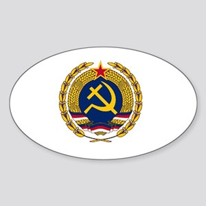 Emblem of Christian Socialism Sticker