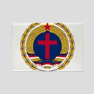 Emblem of Christian Socialism Magnets