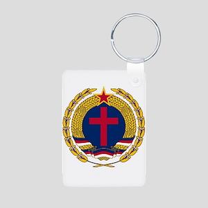 Emblem of Christian Socialism Keychains