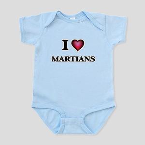 I Love Martians Body Suit
