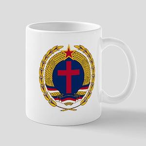 Emblem of Christian Socialism Mugs