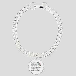 I Just Want to GWTW Charm Bracelet, One Charm