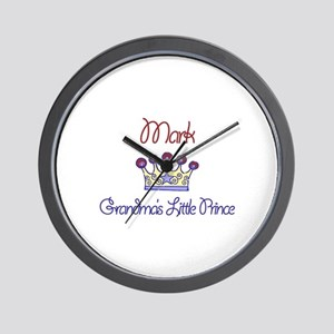 Mark - Grandma's Little Princ Wall Clock