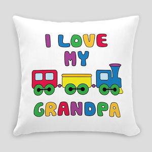 Love Grandpa Everyday Pillow