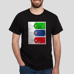 Three Christmas Tags T-Shirt