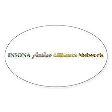 IAAN Linear Sticker (Oval)