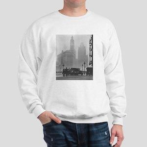 A Foggy Day in Chicago Sweatshirt