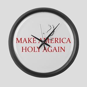 Make America Holy Again Large Wall Clock