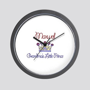 Maxwell - Grandma's Little Pr Wall Clock