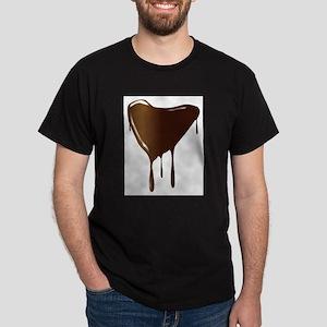 Melting Chocolate Heart T-Shirt
