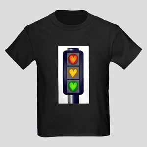 Love Heart Traffic Lights T-Shirt
