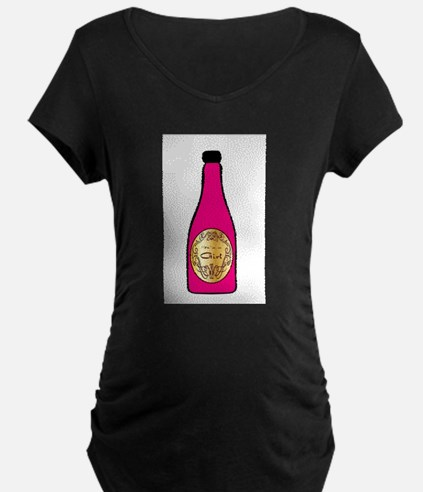 It is a Girl Maternity T-Shirt