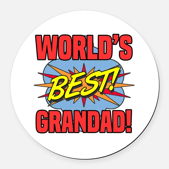Cute Styles Round Car Magnet