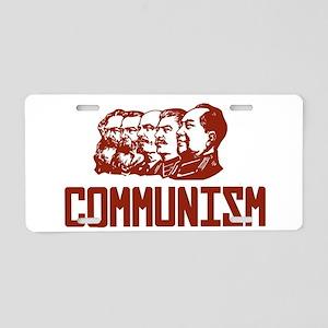 Communism: Marx, Engels, St Aluminum License Plate