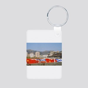 Flags of China, North Korea (DPRK), Viet Keychains