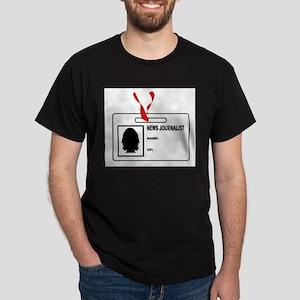 News Journalsit ID Card T-Shirt