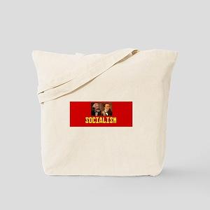 Socialism: Marx and Engels Tote Bag