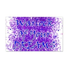 Warlock Of Your Dreams (Blue) Wall Decal