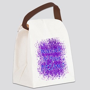 Warlock Of Your Dreams (Blue) Canvas Lunch Bag