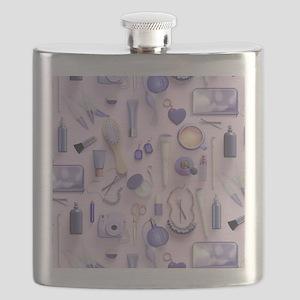 Purple Vanity Table Flask