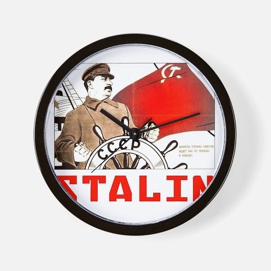 Stalin Wall Clock