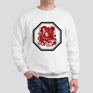 Chinese Zodiac Rooster Sweatshirt
