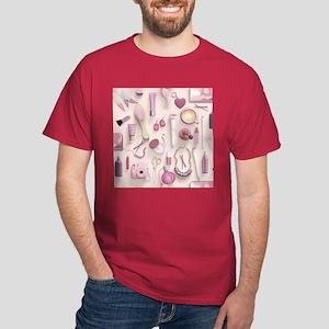 Pink Vanity Table Dark T-Shirt