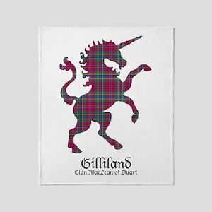Unicorn-Gilliland.MacLeanDuart Throw Blanket