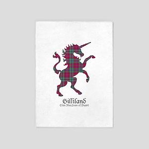 Unicorn-Gilliland.MacLeanDuart 5'x7'Area Rug