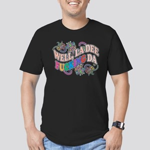 La Dee Da Men's Fitted T-Shirt (dark)