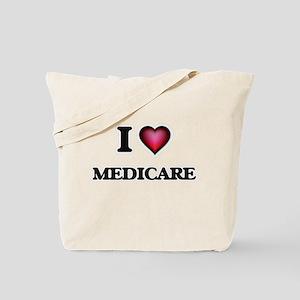 I Love Medicare Tote Bag