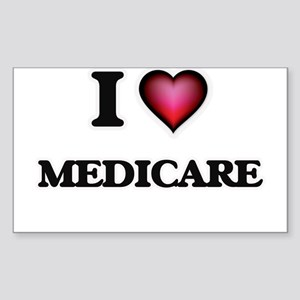 I Love Medicare Sticker